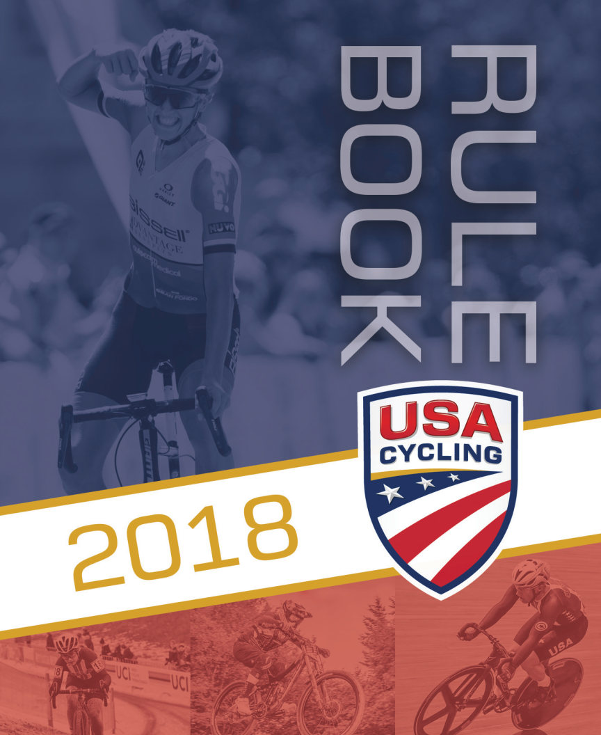 2018 USA Cycling Rulebook